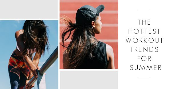 Summer Workout Trends - Facebook Event Cover Template