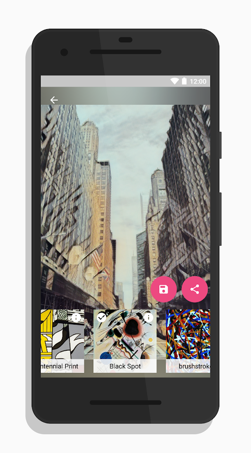 Micasso - Turn your photos into awesome artworks- screenshot
