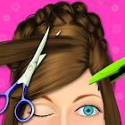 发型沙龙女孩游戏 icon