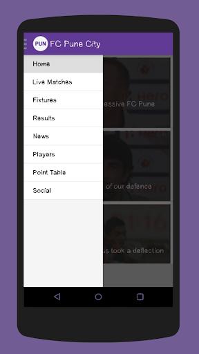 FC Pune City Fixtures
