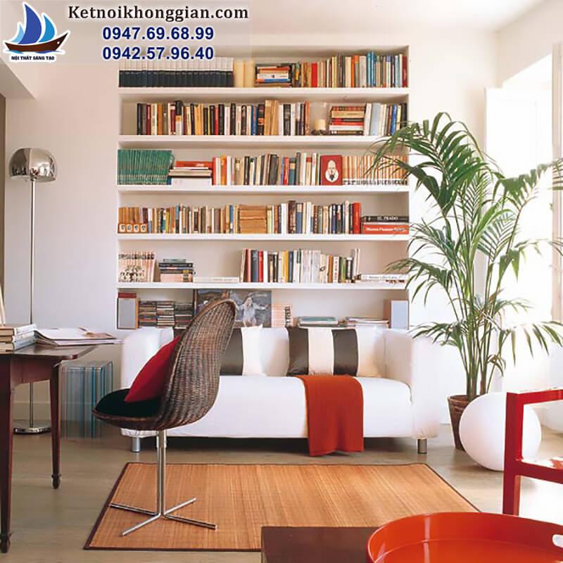 thiết kế phòng đọc sách nhỏ