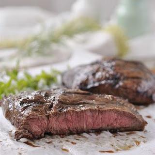 Balsamic Herbed Flat Iron Steak.