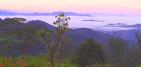 Photo: Kandy valley 6AM