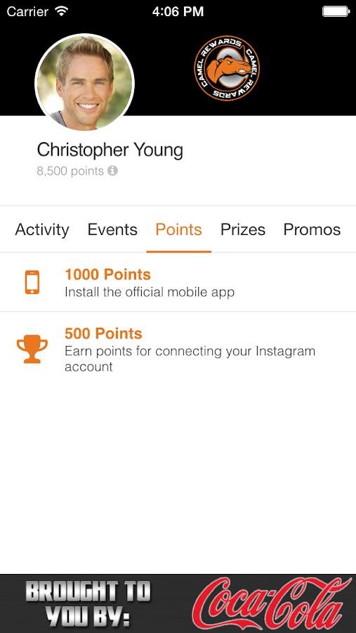 Camel Rewards- screenshot