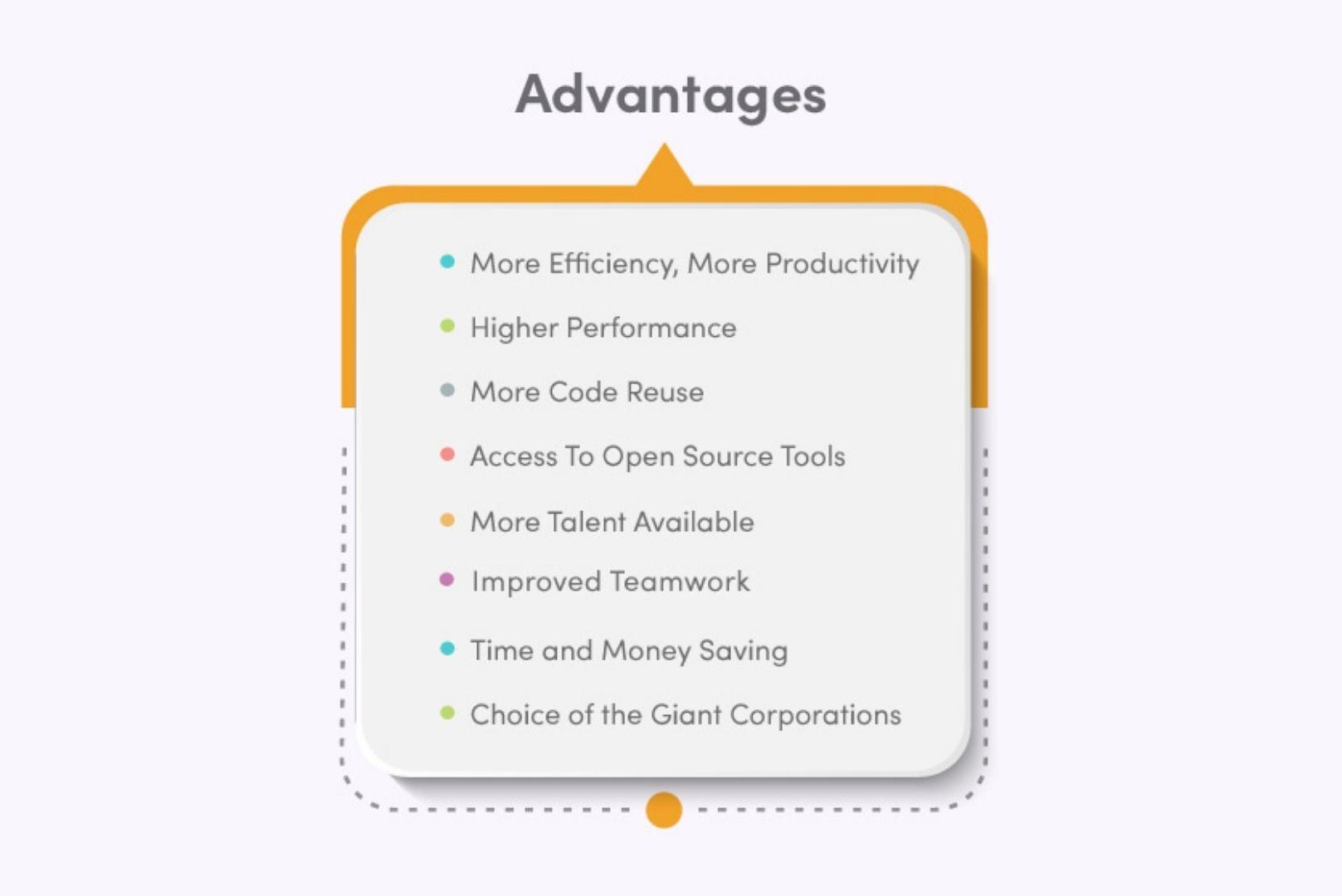 Advantages of full-stack javascript development
