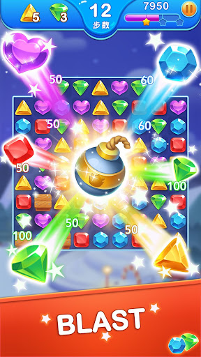 Jewel Blast Dragon - Match 3 Puzzle 1.13.3 screenshots 3