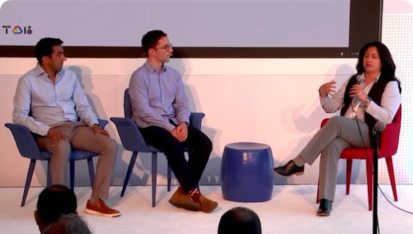 """Uma conversa analisando a infraestrutura de proteção de dados do Google e introduzindo o novo produto """"transparência no acesso""""."""