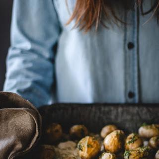 Fingerling Potatoes with Fennel, Lemon + Olive Oil