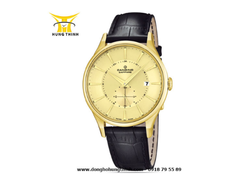 Mẫu đồng hồ nam Candino này phù hợp với những quý ông đang xây dựng hình tượng trưởng thành và thanh lịch