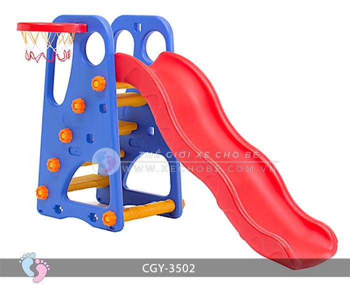 Cầu trượt bóng rổ cho bé YGC-3502 4\