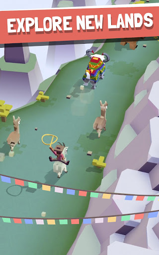 Rodeo Stampede: Sky Zoo Safari - screenshot