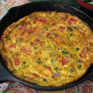 Mexican Inspired Frittata.