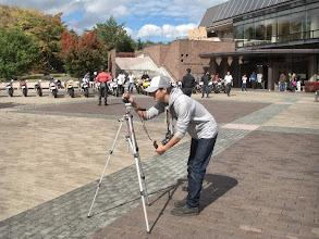 Photo: masaru氏にも撮影のお手伝いをして頂きました。