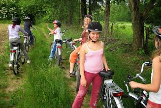 Photo: Giro in bici: fermata per il picnic