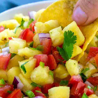 Pineapple Salsa.