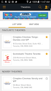 Cineplex Mobile- screenshot thumbnail