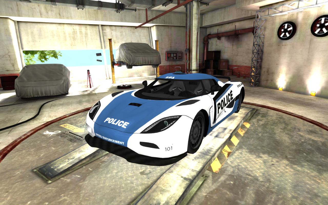 Police Racing Car Apk
