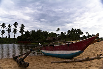 Photo: Boat on the beach