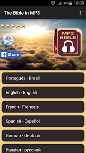 The Holy Bible in Audio MP3 - náhled