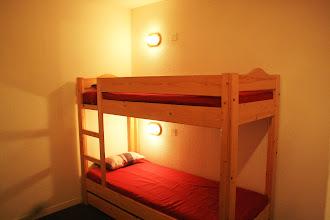 Photo: Coin nuit d'un duplex 8 personnes de la résidence Castor & Pollux à RISOUL - Alpes du Sud