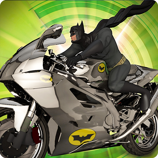 Ultimate Bat Hero Bike Stunts 2018