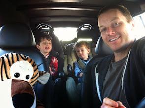 Photo: Boys and Hobbes in Menehune