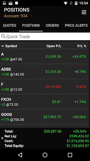 ETNA Trader Mobile screenshot 6