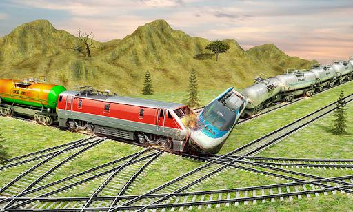 Indian Train City Pro Driving- Oil Tanker Train  screenshots 3
