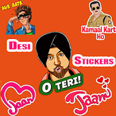 Desi Hindi Stickers For Chat