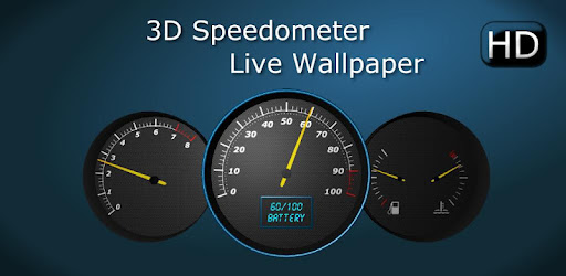 3d Speedometer Live Wallpaper By Opotech Personalization Category 14 Reviews Appgrooves Get More Out Of Life With Iphone Android Apps