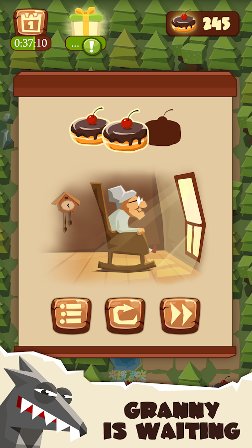 Bring me Cakes - Little Red Riding Hood Puzzle- screenshot