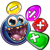 Monster Math: Fun Math Facts Games for Kids Free
