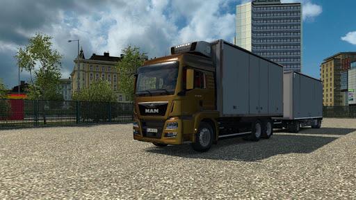 Euro Truck Drifting Simulator (Heavy Truck Driver) 22.0 APK MOD screenshots 2