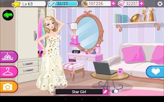 Screenshot of Star Girl
