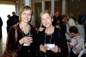 Photo: Pam Morgan and Barbie Morgan La Rue, former AHS Spanish/English teacher