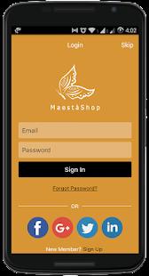 MaestaShop - náhled