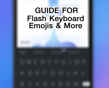 Guide Flash Keyboard Emojis screenshot 5