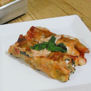 Spinach & Sausage Cannelloni