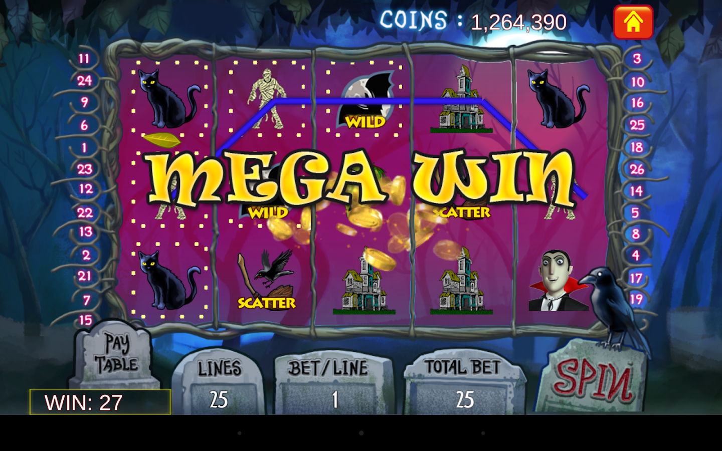 slot machine with bonus games