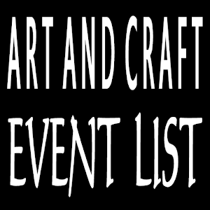 Art And Craft Event List