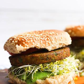 Maple Dijon Veggie Burgers (V&GF).
