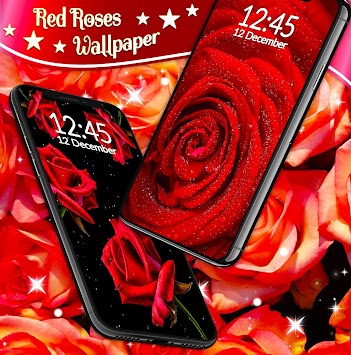 Red Rose Live Wallpaper Poster