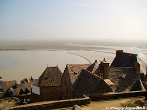 Photo: #012-Le Mont Saint-Michel et sa baie