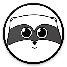 RaccoonMood WhatsApp Stickers