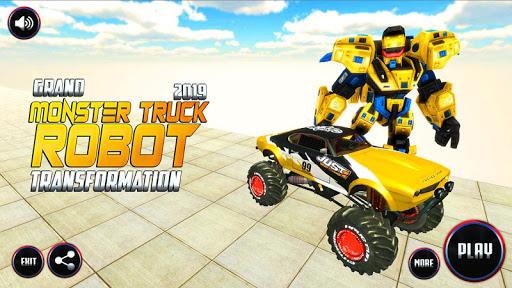 Real Robot Transform Monster Truck Fight ss1