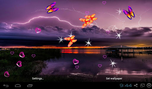 3D Lightning Storm LWP