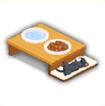 ディナーテーブル(ネコ用)