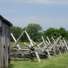 Battlefield  by Bob Raber - Landscapes Prairies, Meadows & Fields