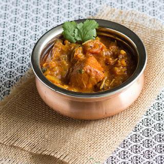 Meen Kulambu - Fish in Tamarind and Tomato Sauce