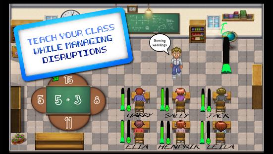 TEACH (a teaching  simulator) Screenshot